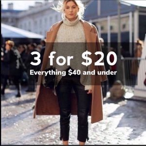 Sweaters - 3/20 Deal on everything $25 and under!!